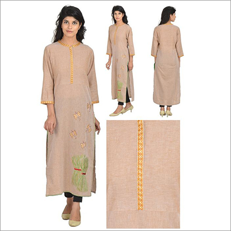 Priya's South Cotton Designer Kurti