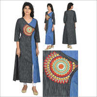 South Cotton China Cut Designer Kurta