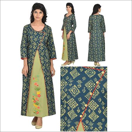 Priya's Designer A-Line Cotton Kurta