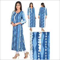 Priya's Designer Cotton Rayon Mix Kurta