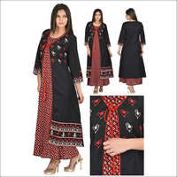 Designer Double Layer uper and lower Kurti