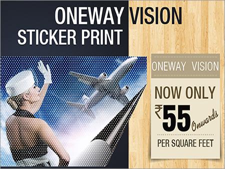One Way Vision Digital Printing