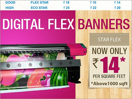 Star Flex Banner Printing