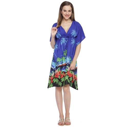 Beach Tree Printed kaftan