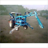 Heavy Duty Tractor Attachment Pole Erection Machine