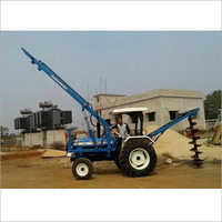 Pole Erection Pilling Ground Mounted Transit Machine