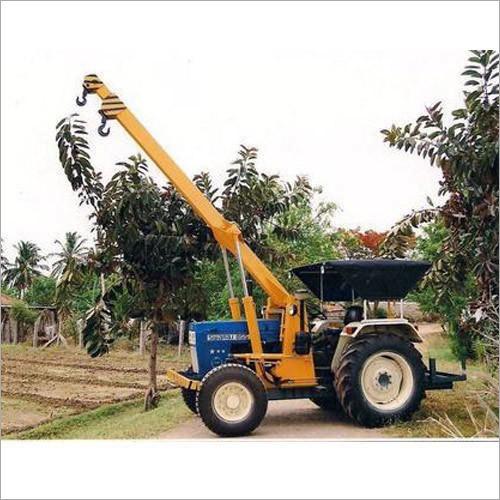 Tractor Crane Pole Erection Machine