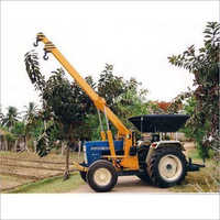Tractor Crane Pole Erection Machine