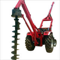 Automatic Post Hole Digger Machine