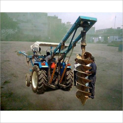 Heavy Duty Post Hole Digger Machine