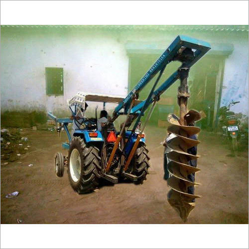 Tractor Post Hole Digger Machine
