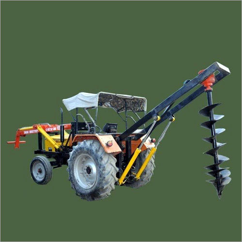 Tractor Attachment Vertical Post Hole Digger Machine