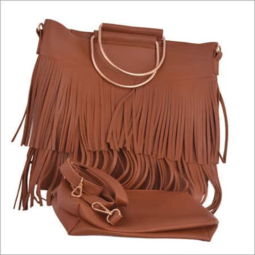 Ladies Handbag in Brown