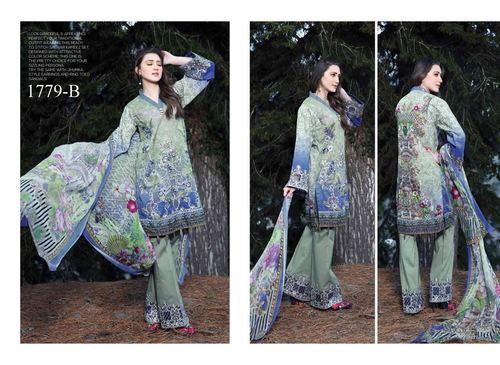 Fancy Cotton dress with dupatta