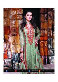 Fancy Cotton dress with dupatta sale online