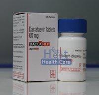 DaciHep Daclatasvir Dihydrochloride 60mg Tablets