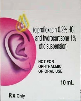 Ciprofloxacin Hydrocortisone Ear Drops