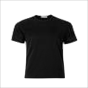 T-Shirt RN Black Cotton