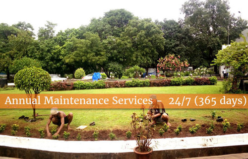 Garden Annual Maintenance Contract Services