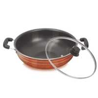 Deep Kadai (With Glass Lid)
