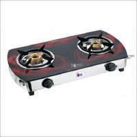 2 Burner Gas Stove Glass Top