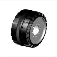 Hole Type Paver Wheel