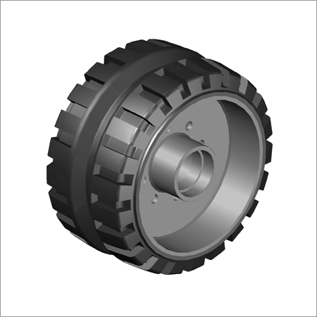 Hub Type Paver Wheel