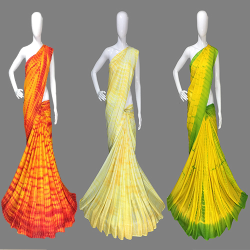 Fancy  Chiffon Designer Saree