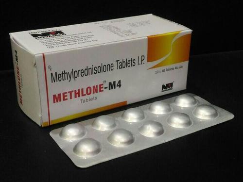 METHYLPREDNISOLONE 4 MG. TABLETS