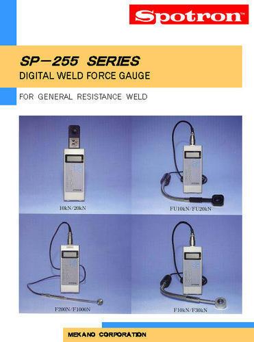 Digital Weld Force Gauge, Model : SP-255, Spotron Japan
