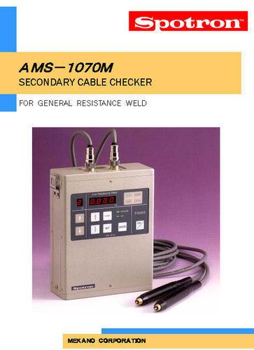 Secondry Cable Checker, AMS-1070M, Spotron