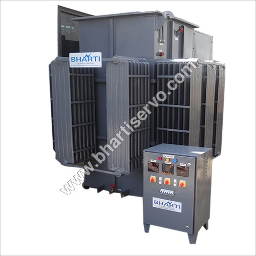 Automatic  Voltage Controlled Oil Cooled Servo
