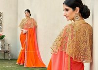 Fancy Work Designer Saree