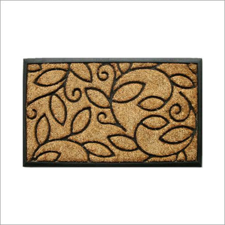 Rubber Backed Coir Brush Mat