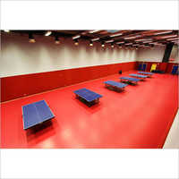 Table Tennis Room Flooring