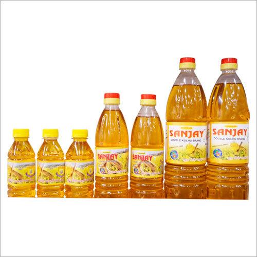 Pure Organic  Mustard Oil