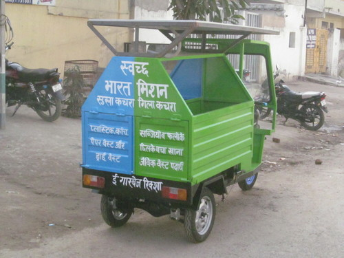 E-Rickshaw Garbage Trolly