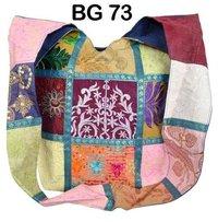 Vintage Embroidered fabric Shoulder Bag