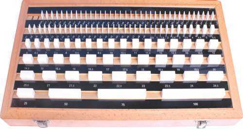Ceramics (Zirconia) Gauge Block Set (Make Trusize)