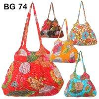 Vintage New Kantha Fabric Shoulder Bag