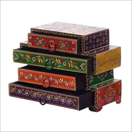 4 Drawer Jewellery Box