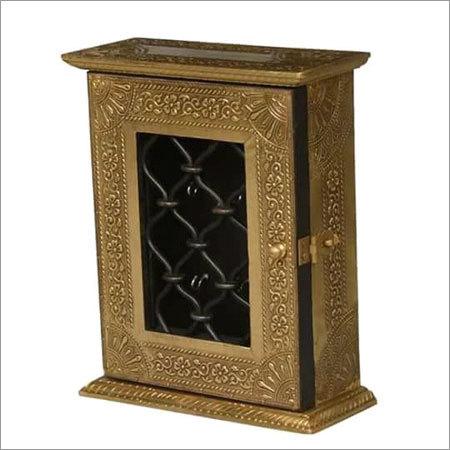 Wooden Key Storage Box