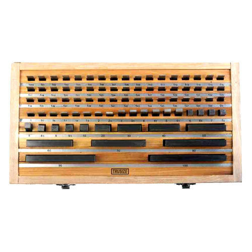 Steel Gauge Block Set ( Make Trusize ) Slip Gauges