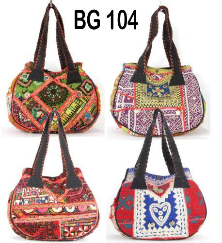 Vintage Banjara Fabric Shoulder Bag