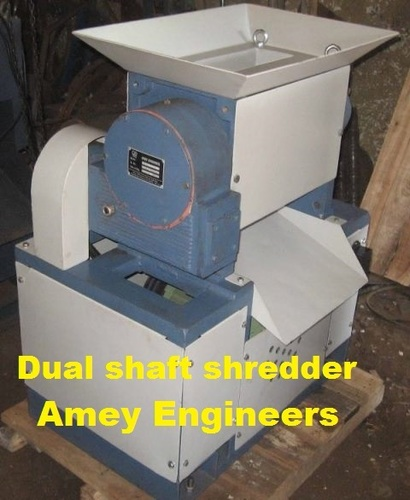 Waste gaskets & oil-seals shredder