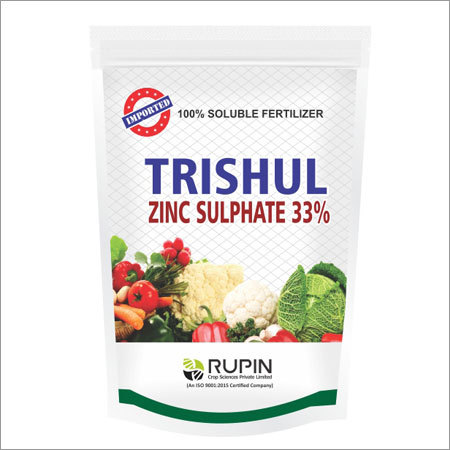Zinc Sulphate 33 Percentage Soluble Fertilizer