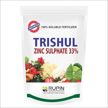 Zinc Sulphate 33% Soluble Fertilizer