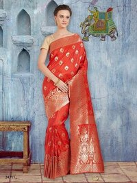 Ethnic Wear Banarasi Silk Sarees
