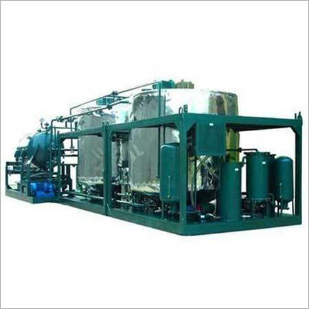 Motor Oil Purification Plant