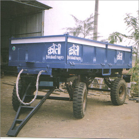 4 Wheel Dumping Trailer (Side Dumping)